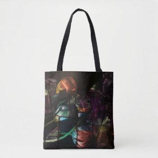 Pop art tulips Tote Bag