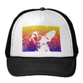 Pop art Weimaraner Mesh Hats
