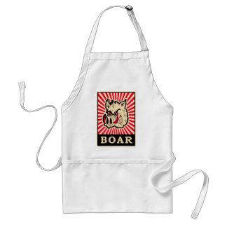 Pop Art Wild Boar Standard Apron