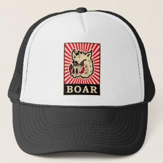 Pop Art Wild Boar Trucker Hat