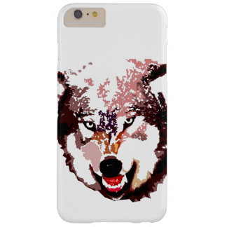 Pop Art Wolf Barely There iPhone 6 Plus Case
