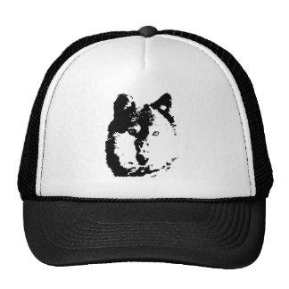 Pop Art Wolf Cap