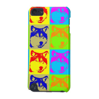 Pop Art Wolf Eyes iPod Touch (5th Generation) Case