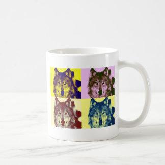 Pop Art Wolf Mug