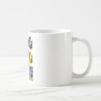 Pop Art Wolf Coffee Mug