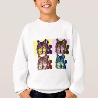 Pop Art Wolf Sweatshirt