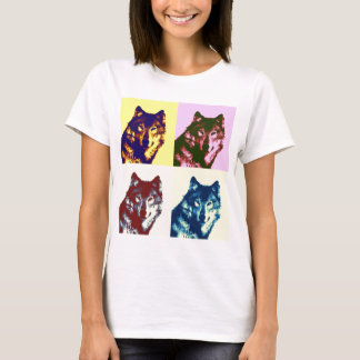 Pop Art Wolf T-Shirt