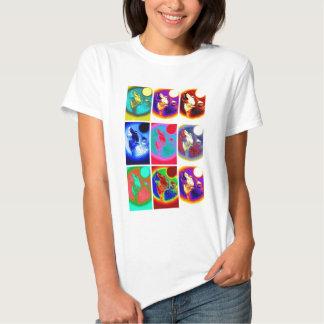 Pop Art Wolf Tee Shirt
