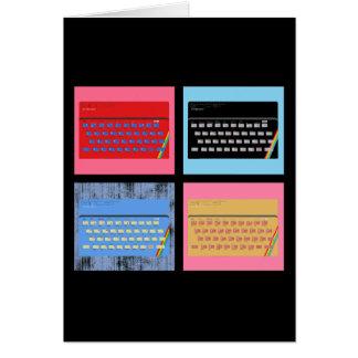 Pop Art ZX Spectrum Greeting Cards