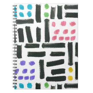 Pop Brushstroke Notebook
