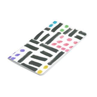 Pop Brushstrokes Pocket Notebook