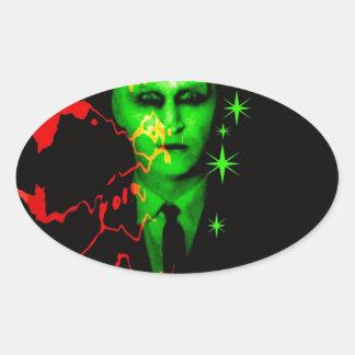Pop Carnival Soul Oval Sticker