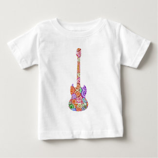 Pop Circles Guitar Logo Baby T-Shirt