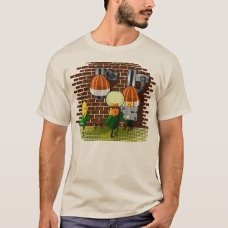 Pop Corn at the barbers T-Shirt