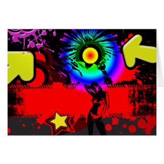 Pop Explosion Greeting Card