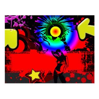 Pop Explosion Post Card