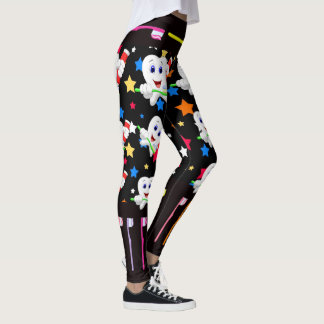 Pop Fashion Nurse Dental Leggings