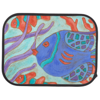 Pop Fish Car Mat