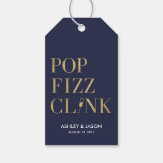 Pop Fizz Clink Favor Tags