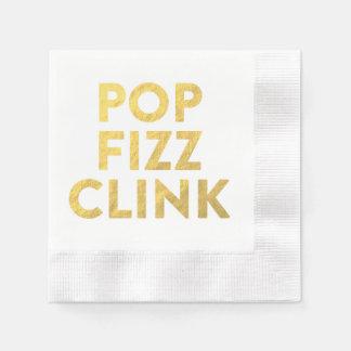 POP FIZZ CLINK Napkins Disposable Napkin