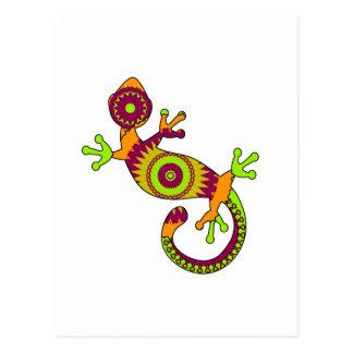 pop gecko postcard