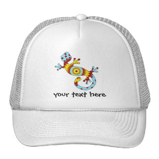 pop gecko sunburst mesh hats
