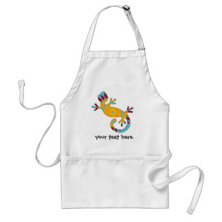 pop gecko tribal standard apron