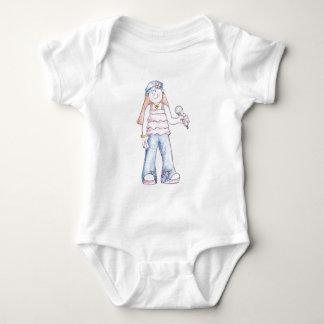 Pop Girl Baby Bodysuit