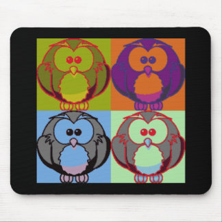 Pop Goes the Owl Mouse Mat
