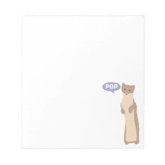 Pop Goes the Weasel Notepad