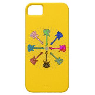 POP GUITARS CIRCLE iPhone 5 CASES