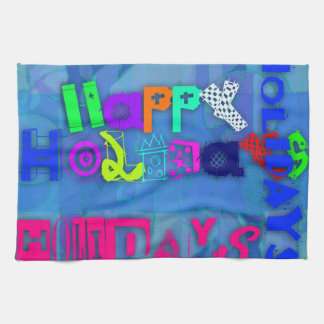 Pop Happy Holidays 2015 - Hand Towels