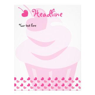 Pop Heart Cupcake 21.5 Cm X 28 Cm Flyer