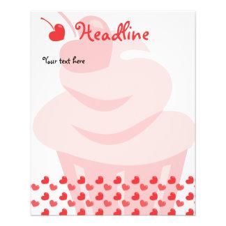 Pop Heart Cupcake 11.5 Cm X 14 Cm Flyer