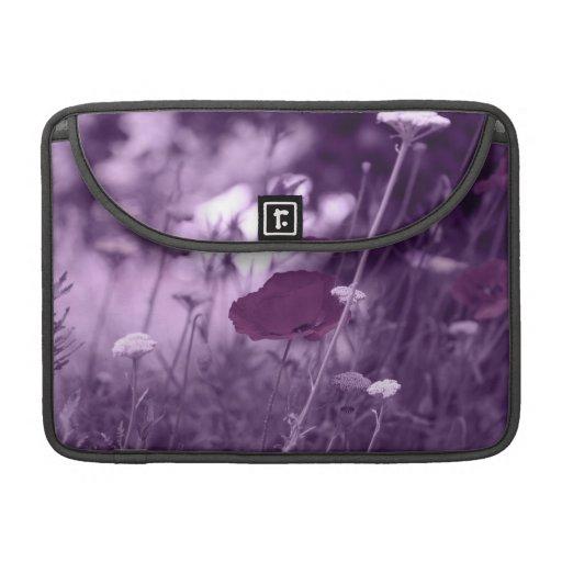 Pop-i-purple Flap Sleeve MacBook Pro Sleeve