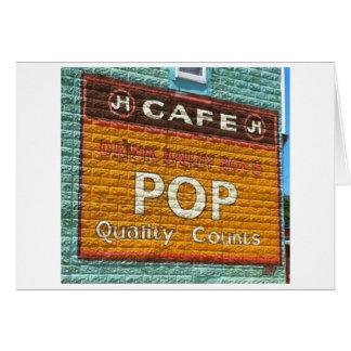 Pop - It's an Iowa Thing Card
