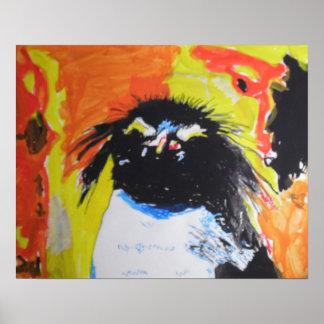 Pop kind penguin poster