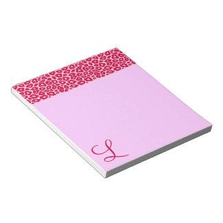 Pop Leopard Pattern Notepad