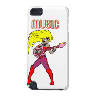 Pop music rock n roll chick iPod touch 5G covers
