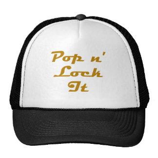 Pop n' Lock It Cap