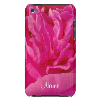 Pop of Pink Peony iPod Touch 4g Case Barely There iPod Case