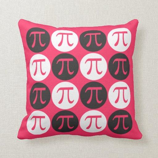 Pop Pi Throw Pillows