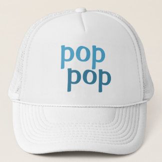 pop pop trucker hat