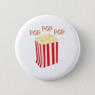Pop Popcorn 6 Cm Round Badge