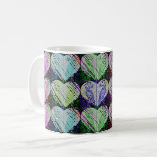 Pop Puffin Hearts Coffee Mug