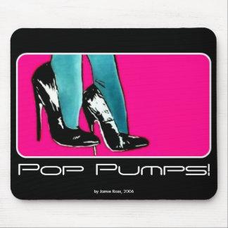 'Pop Pumps!' on a Mousepad