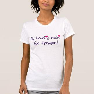 "POP RETRO ""MY HEART'S RACIN FOR GREYSON!"" T-Shirt"