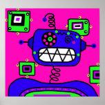 Pop Robot Print