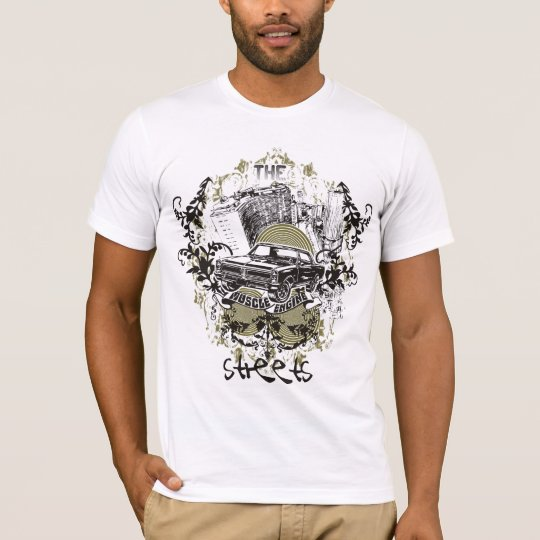 Pop Rock american muscle car T-Shirt