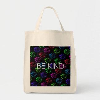 Pop Rose Be Kind Tote Bag